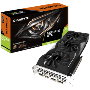 Grafična kartica GIGABYTE GeForce GTX 1660 Ti GAMING OC 6G, 6GB GDDR6, PCI-E 3.0