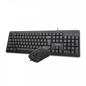 HAVIT wired keyboard and optical mouse set HV-KB611CM / SLO