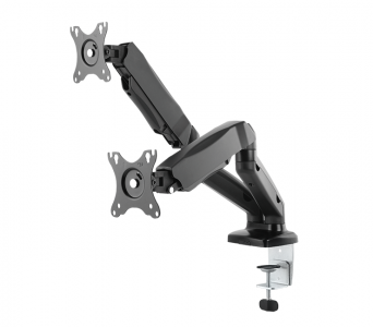 IcyBox dual desktop mount for monitor up to 27 ''