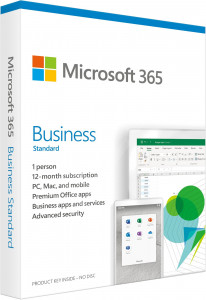 Microsoft 365 Business Standard - Slovenian - 1 year subscription
