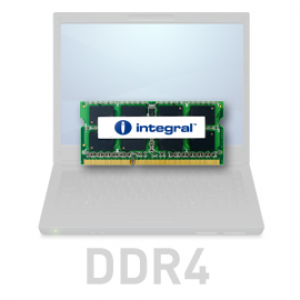 Integral 4GB DDR4-2400 SODIMM PC4-19200 CL17, 1.2V