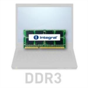Integral 4GB DDR3-1333 SODIMM PC3-10600 CL9, 1.5V