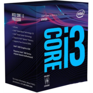 Intel Core i3 8100 BOX processor, Coffee Lake
