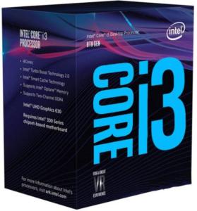 Intel Core i3 8350K BOX procesor, Coffee Lake
