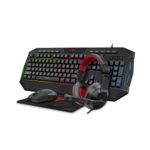 HAVIT Gamenote set 4in1 (keyboard + mouse + pad + headphones) HV-KB501CM / SLO