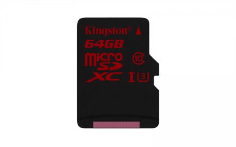Kingston 64gb microSDHC/SDXC UHS-I U3 +adapter