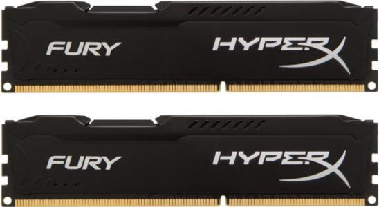 KINGSTON Hyperx Fury 16GB (2x 8GB) DDR3 1600 CL10 black