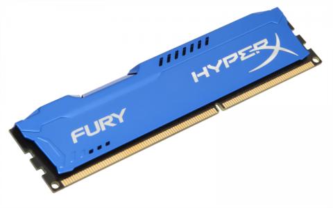 KINGSTON Hyperx Fury 4GB DDR3 1600 CL10 blue
