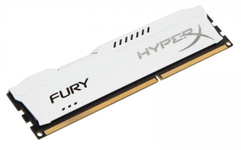 KINGSTON HyperX Fury 8GB DDR3 1600 CL10 white