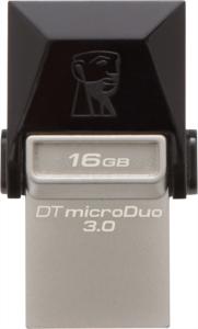 KINGSTON DTDUO3 16GB USB3.0 DataTraveler microDuo spominski ključek OTG