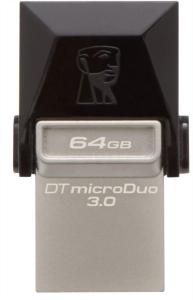 KINGSTON DTDUO3 64GB USB3.0 DataTraveler microDuo spominski ključek OTG