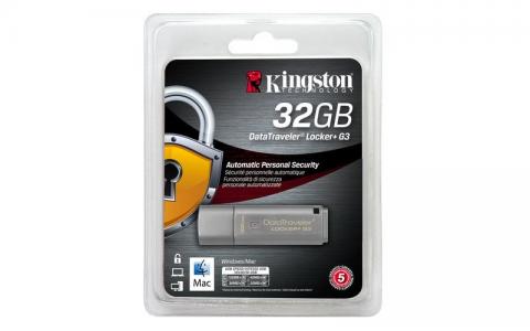 KINGSTON DTLPG3 32GB USB3.0 DataTraveler Locker + G3 spominski ključek