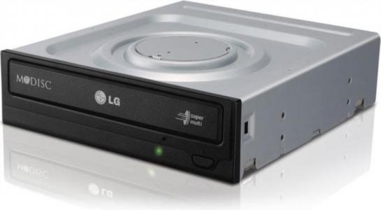 LG GH24NSD1 DVD-RW zapisovalnik, SATA, črn