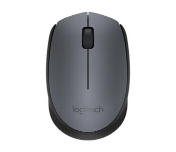 Logitech M171 Wireless majhna miška, siva