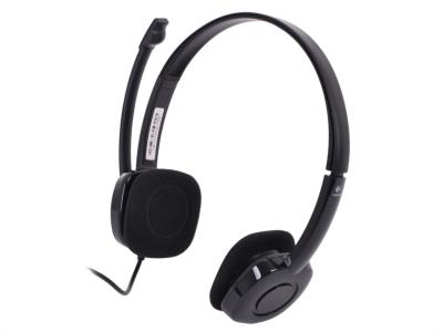Logitech H151 slušalke stereo z mikrofonom - črne