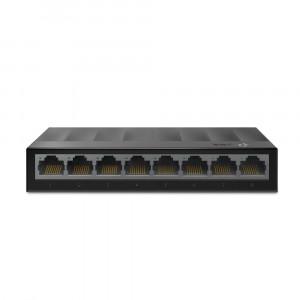 TP-Link network switch LiteWave 8 port LS1008G 10/100 / 1000Mbps