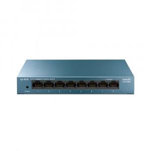 TP-Link network switch LiteWave 8 port LS108G 10/100 / 1000Mbps