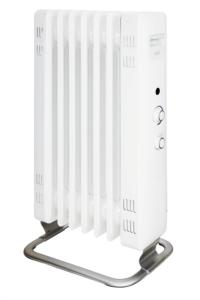 MILL oljni radiator 1500W bel jeklo JA1500
