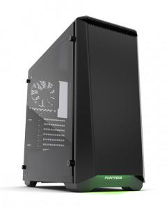 PHANTEKS ECLIPSE P400S Tempered Glass USB3 ATX črno ohišje