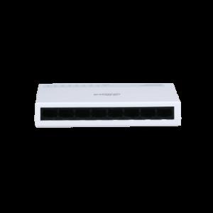 Dahua mains switch 8 port 10/100 PFS3008-8ET-L