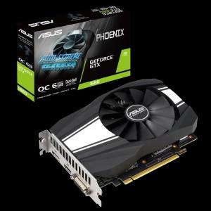 Grafična kartica ASUS GeForce GTX 1660 OC PHOENIX, 6GB GDDR5, PCI-E 3.0