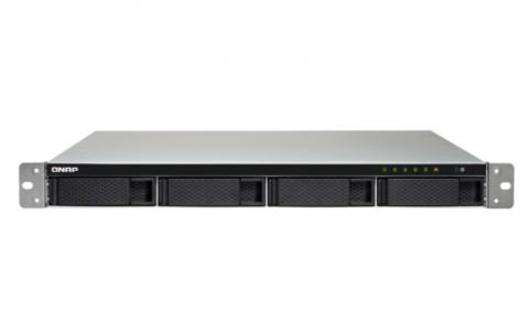 "QNAP TS-453BU-RP Our server for 4 disks, 1U 19 ""rack"