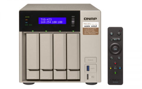 QNAP TVS-473 NAS strežnik za 4 diske