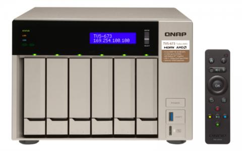 QNAP TVS-673 NAS server for 6 disks
