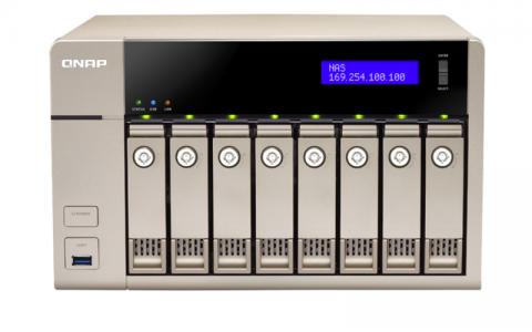 QNAP TVS-863 NAS server for 8 disks