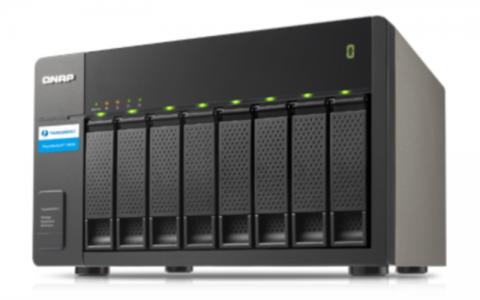 QNAP TX-800P expansion unit for NAS servers