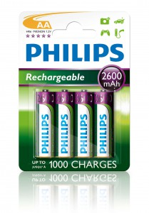PHILIPS BATTERY AA - CHARGING BLISTER 4 PCS (HR06)