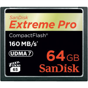 SanDisk 64GB Compact Flash Extreme PRO