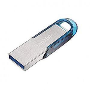 Sandisk Ultra Flair 128GB USB3.0 spominski ključek Sandisk Ultra Flair 128GB USB3.0 spominski ključek-moder