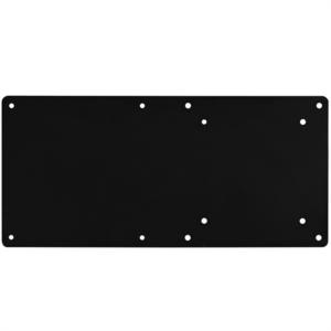 Silverstone MVA01 kovinska ploščica za hkratno VESA montažo NUC in monitorja