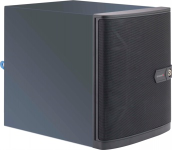 Supermicro SC721TQ-250B ohišje, mini-ITX, 6×HDD za mini strežnike ali NAS