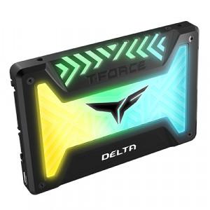 "Teamgroup 500GB SSD DELTA RGB 3D NAND SATA 3 2,5"""