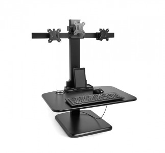 VonHaus Sit & Sand workstation for multiple monitors