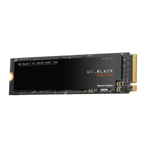 WD 500GB SSD BLACK SN750 M.2 NVMe x4