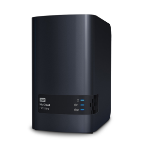 WD MY CLOUD EX2 ULTRA, OUR SYSTEM FOR 2 DISCS, UP TO 16TB