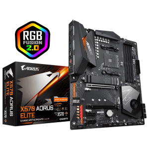 GIGABYTE X570 AORUS ELITE, DDR4, SATA3, USB3.2Gen2, AM4 ATX