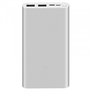 Xiaomi Mi Power Bank 3 10000 mAh 18W QC 3.0 portable battery silver