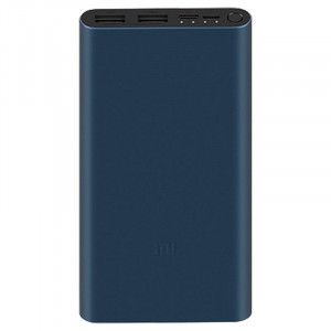 Xiaomi Mi Power Bank 3 10000 mAh 18W QC 3.0 portable battery blue / black