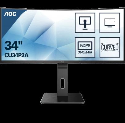 AOC CU34P2A 34 '' Ultra Wide curved gaming monitor