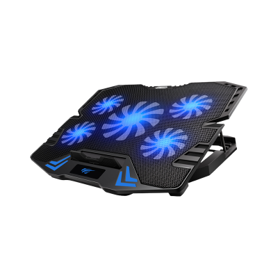 """HAVIT Gamenote gaming cooling pad for laptops up to 17 """"screen size, HV-F2082"""