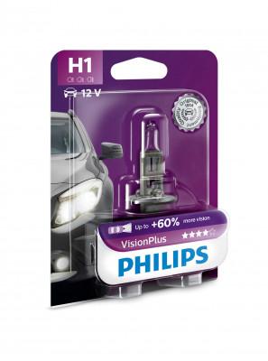 Philips car bulb VisionPlus H1 12V 55W