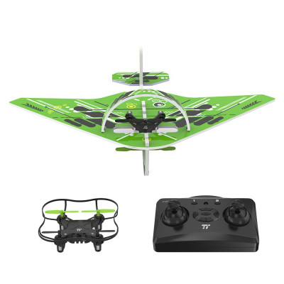 TaoTronics Quadcopter Drone 2.4 GHz RC flying toy, 2-in-1