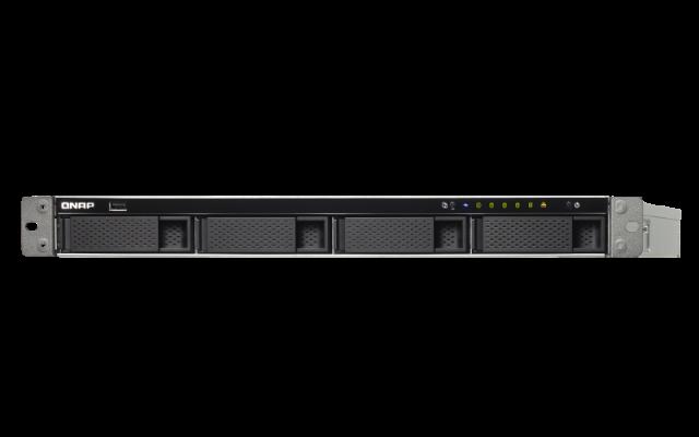 QNAP TS-463XU-RP-4G 1U 4-Bay AMD 64bit x86-based NAS server for 4 × HDD