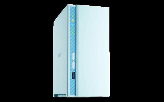 QNAP NAS server for 2 disks, 2GB ram, 1x 1Gb network