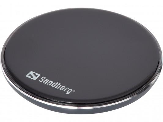 Sandberg aluminijasti Qi brezžični polnilnik 10W