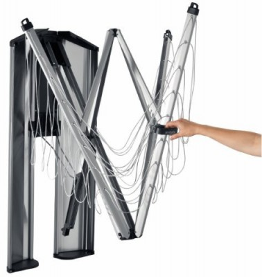 Brabantia wall dryer WALLFIX for laundry, 24 m